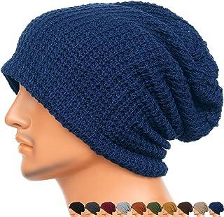 Rayna Fashion Unisex Beanie Hat Slouchy Knit Cap Skullcap Baggy Crochet Style 1004