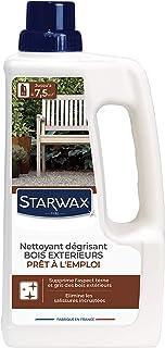 STARWAX Décrassant Dégrisant pour Mobilier de Jardin - 1L - Elimine les Salissures Incrustées