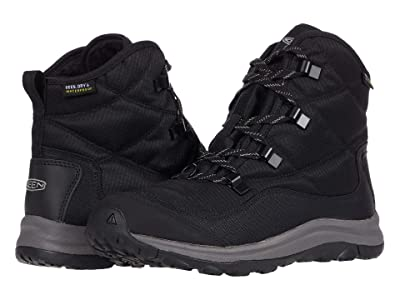 KEEN Terradora II Waterproof Ankle Boot (Black/Drizzle) Women