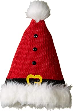 KNH3572 Knit Santa Hat