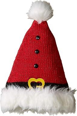 KNH3572 Knit Santa Hat