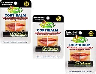 دکتر Dans CortiBalm حاوی عطر و ادکلن حاوی عطر و ادکلن حاوی 0.14 اونس (3 بسته)