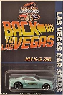 Hot Wheels '13 Copo Camaro Aquamarine Custom-Made Limited Edition Las Vegas Car Stars 2015 Back to Las Vegas Series 1:64 Scale Collectible Die Cast Model Car