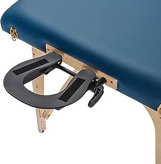 EARTHLITE Massage Table Face Cradle Deluxe Adjustable - Durable, Fully Adjustable Massage Table/Massage Chair Headrest Platform