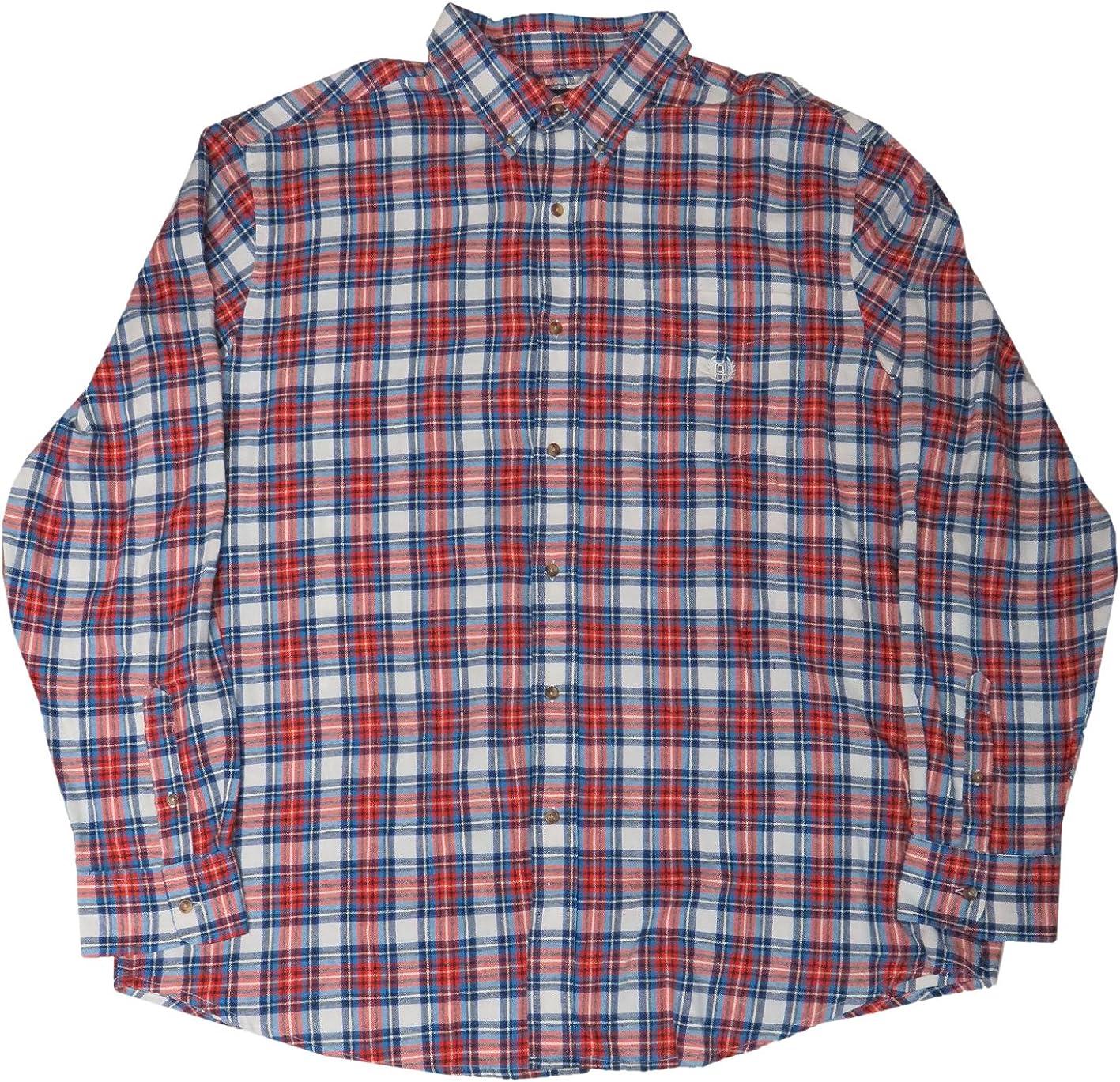 Big & Tall Classic-Fit Plaid Flannel Button-Down Shirt