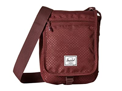 Herschel Supply Co. Lane Small (Plum Dot Check) Messenger Bags