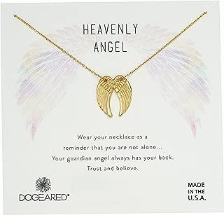 Women's Heavenly Angel, Slide Through Angel Wing Necklace