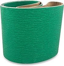 6 X 48 Inch 60 Grit Metal Grinding Zirconia Sanding Belts, 2 Pack