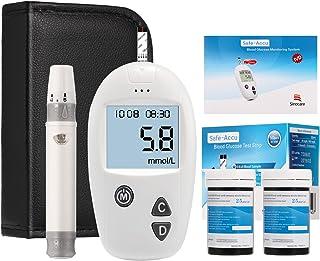 Blood Glucose Meter Monitor kit Diabetes test kit blood sugar testing kit Codefree pack 50 strips -in Mmol/L