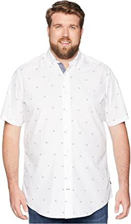 Big & Tall Casual Print Short Sleeve