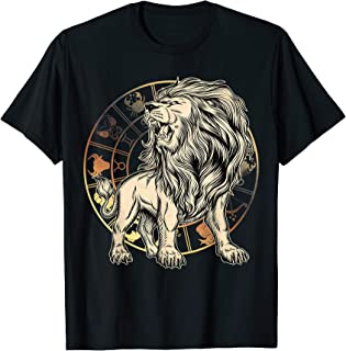 Best Leo Birthday gift - born in July-August - Zodiac Leo T-Shirt Review