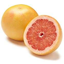 Organic Ruby Marsh Grapefruit, One Large