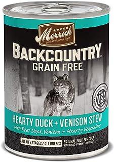 Merrick Backcountry Hearty Venison Grain