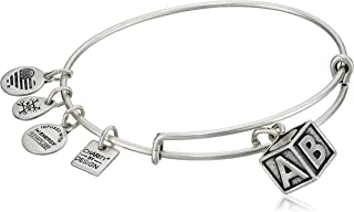 Alex and Ani Charity by Design Baby Block Bangle Bracelet