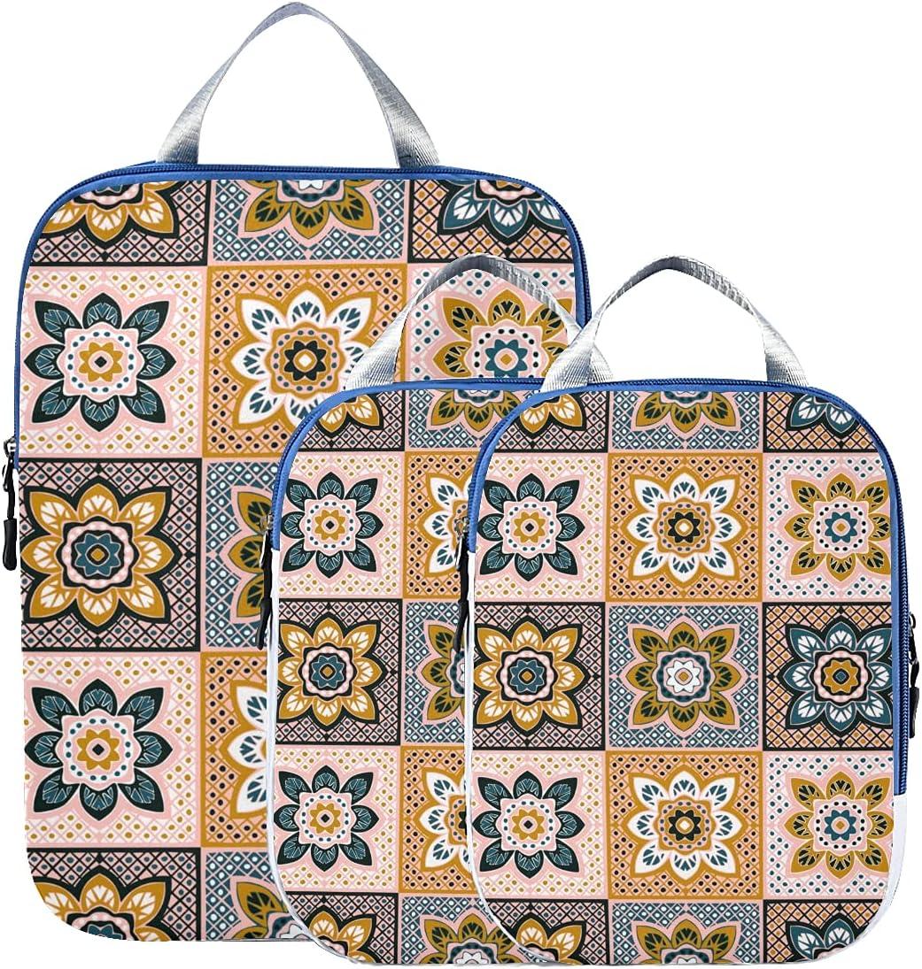 Travel Max 52% OFF Bag Max 88% OFF Organizer Set Dutch Pac Daisy Flower Beautiful