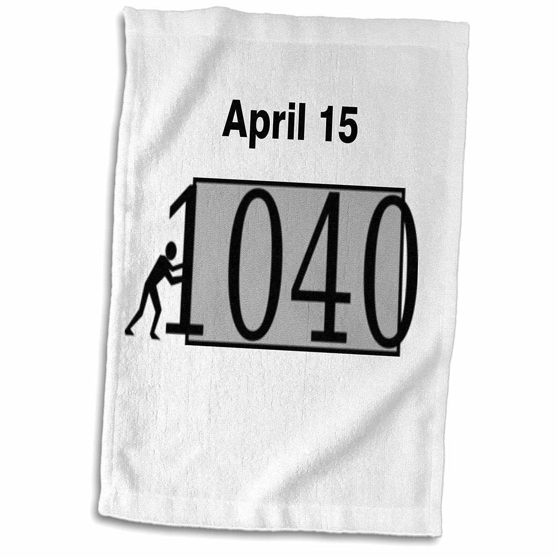 修道院シェア記者3drose 3dローズ印刷のMan Pushing 1040税金Sign TWL 204808?_ 1タオル、15インチx 22インチ、マルチカラー