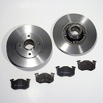 Bremsbel/äge /Ø 266 BEL/ÜFTET Bremskl/ötze VA Kit NB PARTS GERMANY 10038227 Bremsen-set Vorne Bremsscheiben