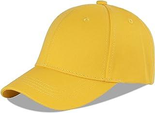 لانغزين 100% قطن في الهواء الطلق الأطفال قبعة بيسبول سادة قبعة الشمس قابلة للتعديل للبنات والأولاد