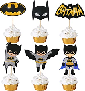 Details about  /3 Oz Batman Edible Sprinkles Mixed blended Cupcake Topping Decor