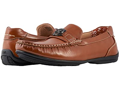 Stacy Adams Cyrus Slip On Casual Loafer (Tan Smooth) Men