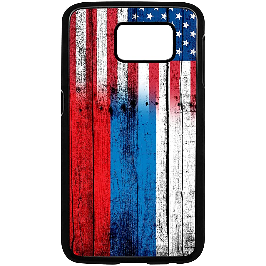 Case for Samsung Galaxy S9 Plus with Flag of Russian Federation Russia