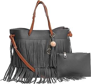 Inoui Tote Bag for Women, Black
