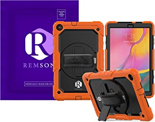 """Samsung Galaxy Tab A 10.1"""" T510 Remson Heavy Duty Shockproof Full Body Rugged Protection Cover with 360 Rotating Kickstand..."""