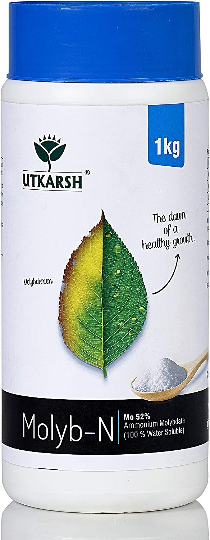 Utkarsh Molyb-N Mo Popular 52% Ammonium Molybdate 100% Water Soluble Nippon regular agency
