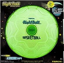 Nightball Tangle Glow in The Dark Light Up LED Basketball, Green