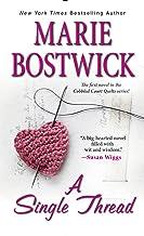 A Single Thread (Cobbled Court Quilts Book 1)