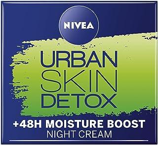 NIVEA Daily Essentials Urban Skin Detox Night Gel Cream, 50ml