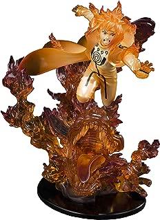 Bandai - Figurine Naruto Shippuden - Minato Namikaze Kurama Kizuna Figuarts Zero Relation 21cm - 4573102552785