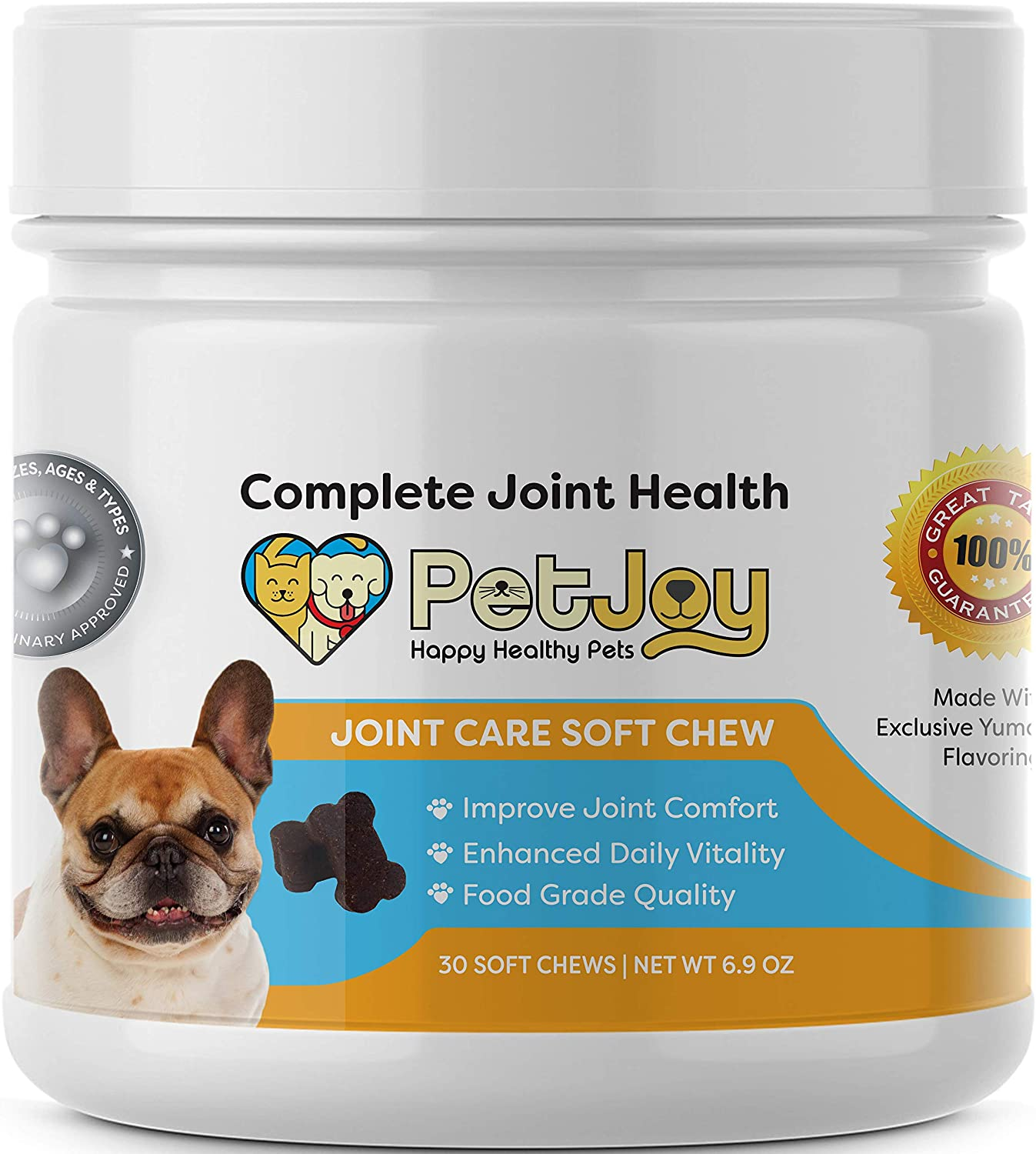PetJoy Complete Hip Translated Max 64% OFF and Joint Care Daily I Health Key Chews Soft