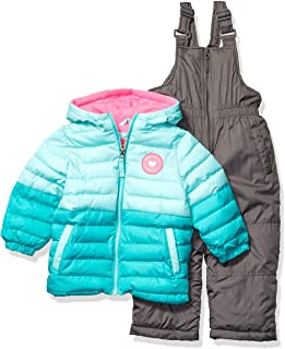 Pink Platinum Baby Girls' Insulated Two-Piece Snowsuit