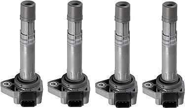 Pack of 4 Ignition Coils for 2001-2005 Honda Civic - Acura EL - 1.7L L4 C1460 UF-400 UF400