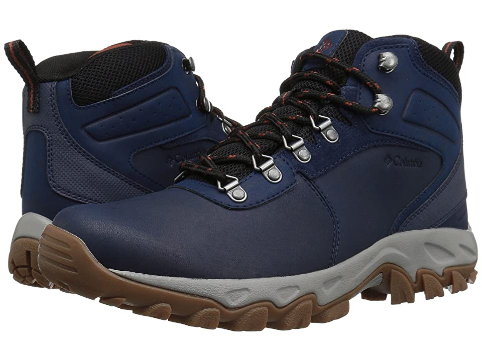 Columbia Newton Ridge Plus II Waterproof (Collegiate Navy/Rusty) Men