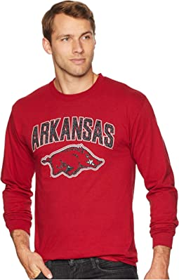Arkansas Razorbacks Long Sleeve Jersey Tee