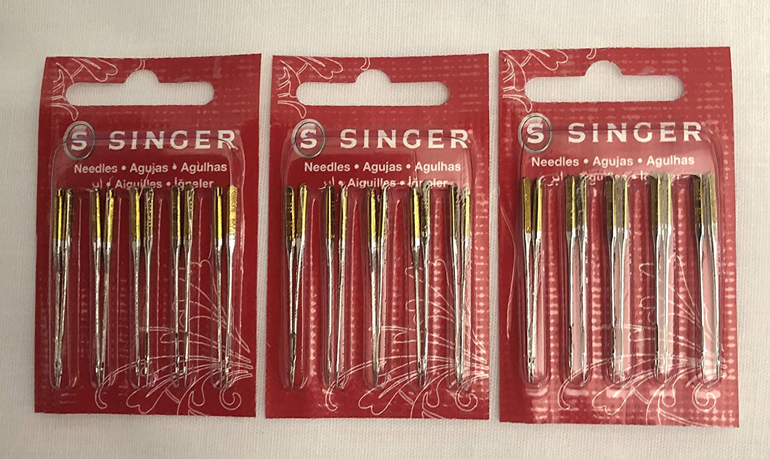 Singer Sewing Machine Needles 2045 Yellow Inexpensive Excellence Size Co Band 30 80 11