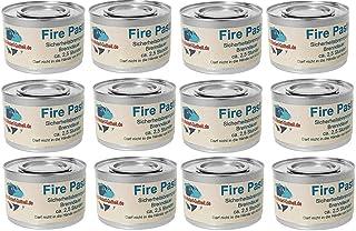 Gastro-Bedarf-Gutheil 12 x Sicherheitsbrennpaste je Dose 200 g Qualitätsprodukt Fire Paste Brennpaste Brenngel Brenndauer ca. 2,5 Std. für Chafing Dish Speisewärmer Warmhaltebehälter Rechaud