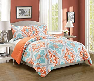 Best turquoise and orange comforter Reviews