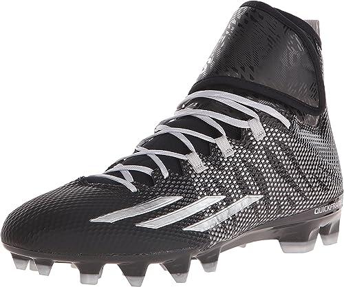 Adidas Dualthreat Medio negro Platino Zapatilla de Deporte 7 D (m)