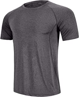 GEEK LIGHTING Men's Athletic Dry Fit Short Sleeve T Shirts