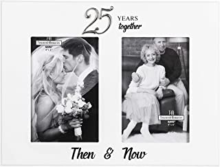 Ganz 25 Years Together Then and Now Frame