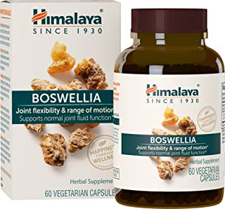 Himalaya Boswellia for Joint Flexibility and Mobility 250 mg, 60 Capsules