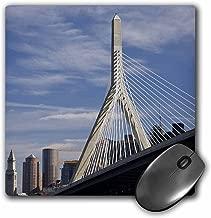 "3dRose USA, Massachusetts, Boston, The Zakim Bridge - US22 WBI0619 - Mouse Pad, 8 by 8"" (mp_91022_1)"