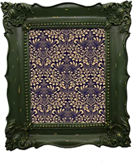 5ca37f626cf3 Simon s Shop 8x10 Picture Frame Baroque Picture Frames 8x10 Shabby Chic  Photo Frames in Moss Green