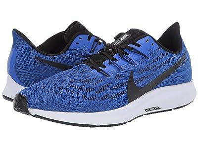 Nike Air Zoom Pegasus 36 (Racer Blue/Black/White) Men