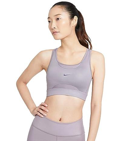 Nike Swoosh Textured Bra Pad (Purple Smoke/Dark Raisin) Women