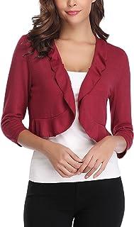 Amazon.es: MANGO - Rojo / Ropa de abrigo / Mujer: Ropa