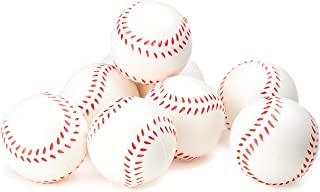Baseball Sports Themed 2.5-Inch Foam Squeeze Balls for Stress Relief, Baseball Sport Stress Balls - Baseball Party Favors and Decoration - Bulk 1 Dozen